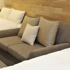 hotel androoms Osaka Hommachi комната для гостей фото 4