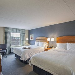 Отель Hampton Inn New York - LaGuardia Airport США, Нью-Йорк - отзывы, цены и фото номеров - забронировать отель Hampton Inn New York - LaGuardia Airport онлайн комната для гостей фото 2