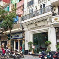 Church Boutique Hotel Hang Trong парковка