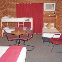 Отель Central Yarrawonga Motor Inn комната для гостей фото 5