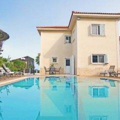 Отель Villa Amalia Кипр, Протарас - отзывы, цены и фото номеров - забронировать отель Villa Amalia онлайн бассейн