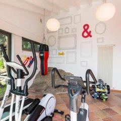 Отель Luxury Italian Lakes Villa With Private Pool, Gym, Bbq, Free Wifi, Lake Views Вербания фитнесс-зал