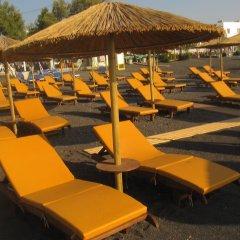 Отель Villa Gambas Греция, Остров Санторини - отзывы, цены и фото номеров - забронировать отель Villa Gambas онлайн пляж фото 2