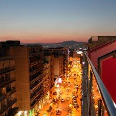 Отель Pythagorion Hotel Греция, Афины - 1 отзыв об отеле, цены и фото номеров - забронировать отель Pythagorion Hotel онлайн балкон