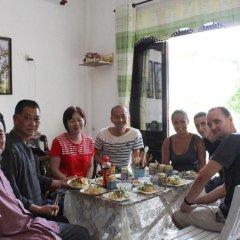 Отель Sac Xanh Homestay питание