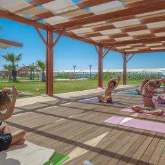 Отель Kirman Belazur Resort And Spa Богазкент фитнесс-зал фото 2