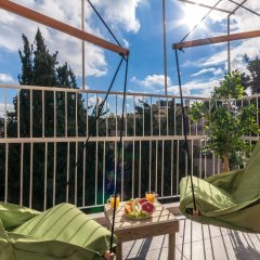 Sweet Inn Apartments - Ben Maimon 19 Израиль, Иерусалим - отзывы, цены и фото номеров - забронировать отель Sweet Inn Apartments - Ben Maimon 19 онлайн балкон