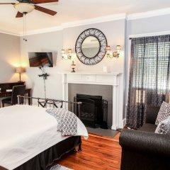 Отель Hawthorne Park Bed and Breakfast США, Колумбус - отзывы, цены и фото номеров - забронировать отель Hawthorne Park Bed and Breakfast онлайн комната для гостей фото 5