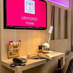 Leonardo Hotel Budapest удобства в номере