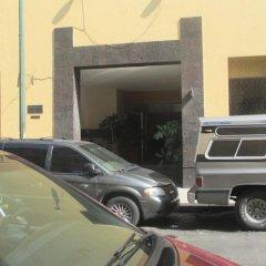 Hotel Hidalgo Мехико парковка