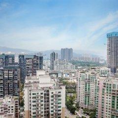 Отель The Langham, Shenzhen Китай, Шэньчжэнь - отзывы, цены и фото номеров - забронировать отель The Langham, Shenzhen онлайн балкон
