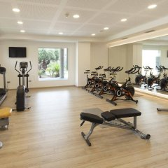Hotel Port Alicante фитнесс-зал фото 2