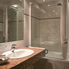 Hotel Cristallo Стельвио ванная