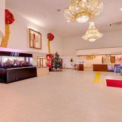 Отель Miyuki Hamabaru Resort Центр Окинавы интерьер отеля