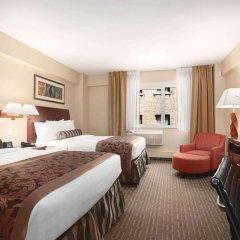 Отель Wingate By Wyndham Midtown США, Нью-Йорк - отзывы, цены и фото номеров - забронировать отель Wingate By Wyndham Midtown онлайн комната для гостей фото 2