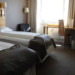Отель Park Inn by Radisson Copenhagen Airport комната для гостей