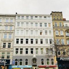 Апартаменты Bluecity Apartments Гамбург вид на фасад