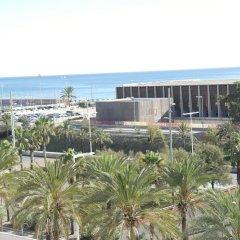 Отель Eurohotel Diagonal Port (ex Rafaelhoteles) пляж