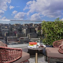 Naz City Hotel Taksim балкон