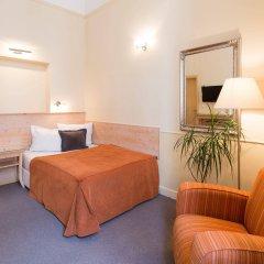 Отель Unitas Hotel Чехия, Прага - 9 отзывов об отеле, цены и фото номеров - забронировать отель Unitas Hotel онлайн комната для гостей фото 3