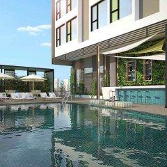 Отель ibis Styles Nha Trang Вьетнам, Нячанг - отзывы, цены и фото номеров - забронировать отель ibis Styles Nha Trang онлайн бассейн фото 3