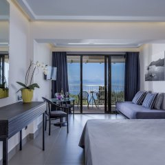 Отель Aeolos Beach Resort All Inclusive Греция, Корфу - отзывы, цены и фото номеров - забронировать отель Aeolos Beach Resort All Inclusive онлайн комната для гостей фото 4