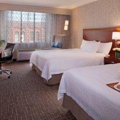 Отель Courtyard by Marriott Tacoma Downtown США, Такома - отзывы, цены и фото номеров - забронировать отель Courtyard by Marriott Tacoma Downtown онлайн комната для гостей фото 4