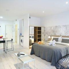 Отель Aspasios Atocha Apartments Испания, Мадрид - отзывы, цены и фото номеров - забронировать отель Aspasios Atocha Apartments онлайн комната для гостей фото 3