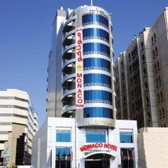 Отель Monaco Hotel ОАЭ, Дубай - отзывы, цены и фото номеров - забронировать отель Monaco Hotel онлайн вид на фасад фото 3
