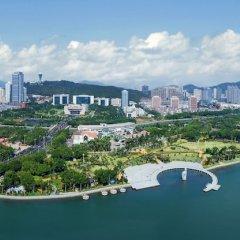 Отель Lakeside Hotel Xiamen Airline Китай, Сямынь - отзывы, цены и фото номеров - забронировать отель Lakeside Hotel Xiamen Airline онлайн пляж фото 2