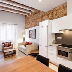 Отель Dailyflats Gracia Барселона в номере