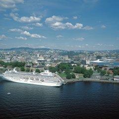 Отель Karl Johan Hotell Осло приотельная территория