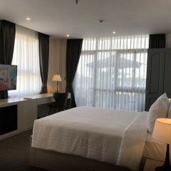 Апартаменты Oakwood Apartments Ho Chi Minh City комната для гостей