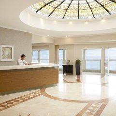 Отель Pelekas Beach (side Sea View - Half Board) Греция, Корфу - отзывы, цены и фото номеров - забронировать отель Pelekas Beach (side Sea View - Half Board) онлайн интерьер отеля