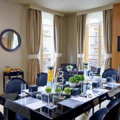 Отель Renaissance Paris Vendome Hotel Франция, Париж - отзывы, цены и фото номеров - забронировать отель Renaissance Paris Vendome Hotel онлайн питание фото 2