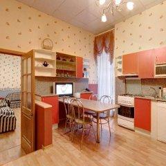 Апартаменты Stn Apartments Near Hermitage Стандартный номер с различными типами кроватей фото 13