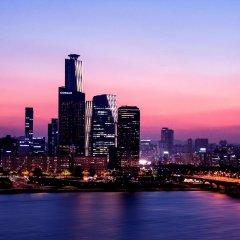 Отель Conrad Seoul Южная Корея, Сеул - 1 отзыв об отеле, цены и фото номеров - забронировать отель Conrad Seoul онлайн приотельная территория