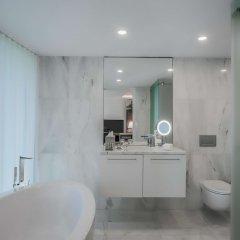 Отель DoubleTree by Hilton Hotel Lisbon - Fontana Park Португалия, Лиссабон - отзывы, цены и фото номеров - забронировать отель DoubleTree by Hilton Hotel Lisbon - Fontana Park онлайн ванная фото 2