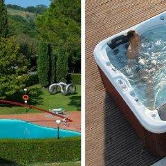 Отель Albornoz Palace Hotel Spoleto Италия, Сполето - отзывы, цены и фото номеров - забронировать отель Albornoz Palace Hotel Spoleto онлайн бассейн фото 2