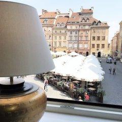 Отель Luxury Apartments MONDRIAN Market Square Польша, Варшава - отзывы, цены и фото номеров - забронировать отель Luxury Apartments MONDRIAN Market Square онлайн балкон