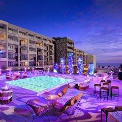 Отель Hard Rock Hotel Los Cabos - All inclusive Мексика, Кабо-Сан-Лукас - отзывы, цены и фото номеров - забронировать отель Hard Rock Hotel Los Cabos - All inclusive онлайн бассейн фото 3