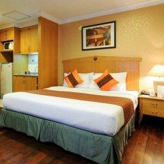 Отель Admiral Suites Sukhumvit 22 By Compass Hospitality Бангкок комната для гостей фото 4
