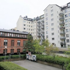 Отель Hiisi Homes Helsinki Sörnäinen городской автобус