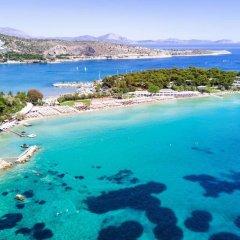 Отель Azur Boutique Афины пляж