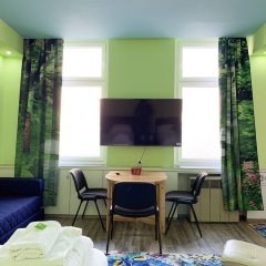 Апартаменты Delphin Apartment Вена комната для гостей фото 4