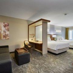 Отель SpringHill Suites Las Vegas Convention Center комната для гостей фото 4