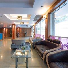 Отель Dream Town Pratunam Бангкок интерьер отеля
