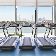 Отель Fairmont Bab Al Bahr фитнесс-зал