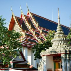 Отель Bed De Bell Hostel Таиланд, Бангкок - отзывы, цены и фото номеров - забронировать отель Bed De Bell Hostel онлайн балкон