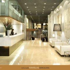Отель Silken Ramblas Испания, Барселона - 5 отзывов об отеле, цены и фото номеров - забронировать отель Silken Ramblas онлайн интерьер отеля фото 3
